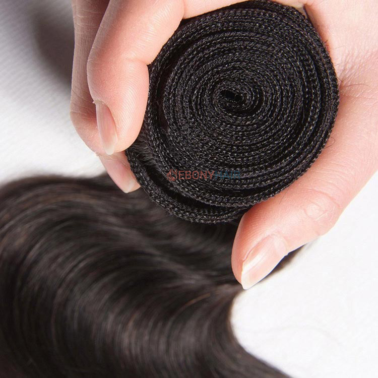 Brazilian Body Wave Hair Weft Head