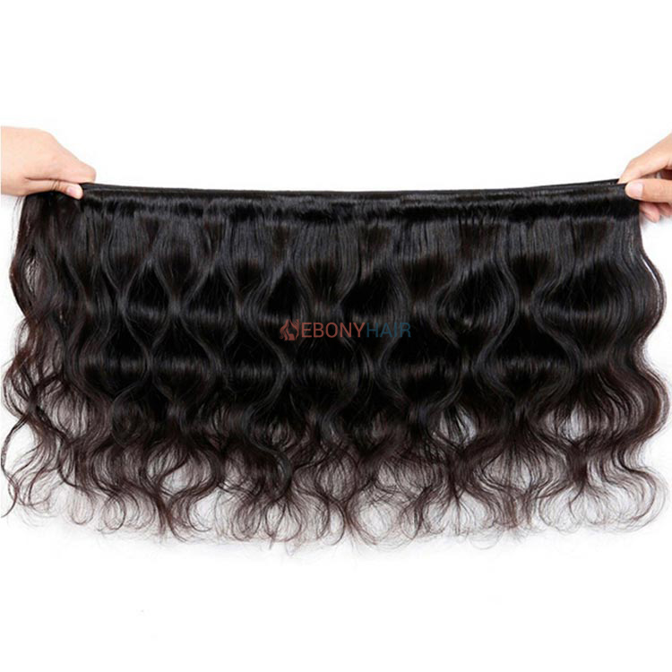 Brazilian Body Wave Hair Weft Open