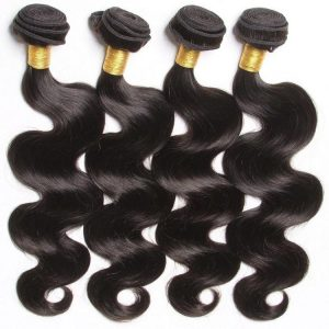 Natural Color 10-30″ Body Wave 100 Percent Authentic Human Hair Brazilian Body Wave Hair