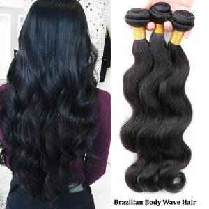 Top grade Brazilian body wave sew in weave