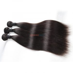 Unprocessed Smooth Soft 100 Virgin Brazilian Straight Hair for Black Women