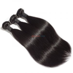 Straight Human Hair Extensions 10-30 inch Full Stock 100 Virgin Brazilian Straight Hair