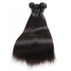 100 Virgin Brazilian Straight Hair 100% Real Human Hair For Sale Online