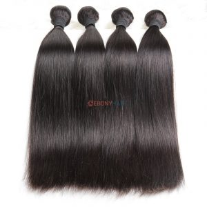Silky Straight Brazilian Hair Bundles Natural Raw Hair Material 100 Virgin Brazilian Straight Hair
