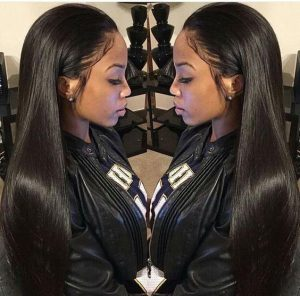 No shedding and tangle free Brazilian hair straight weave