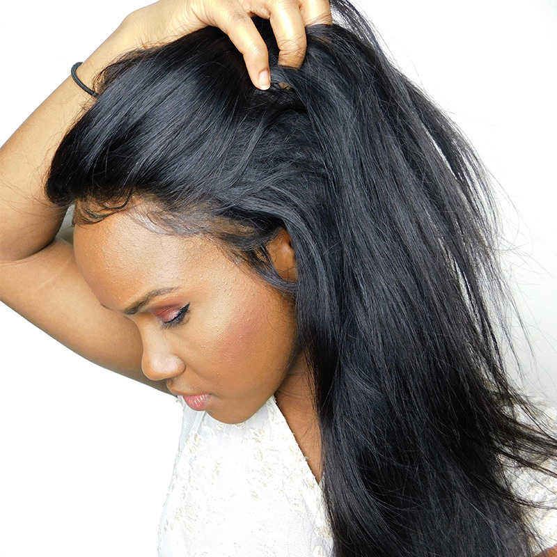 Brazilian Straight Lace Wig For Black Women 2