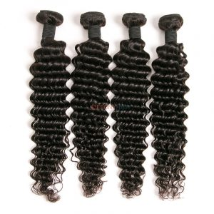 Popular Brazilian deep wave hair for black women