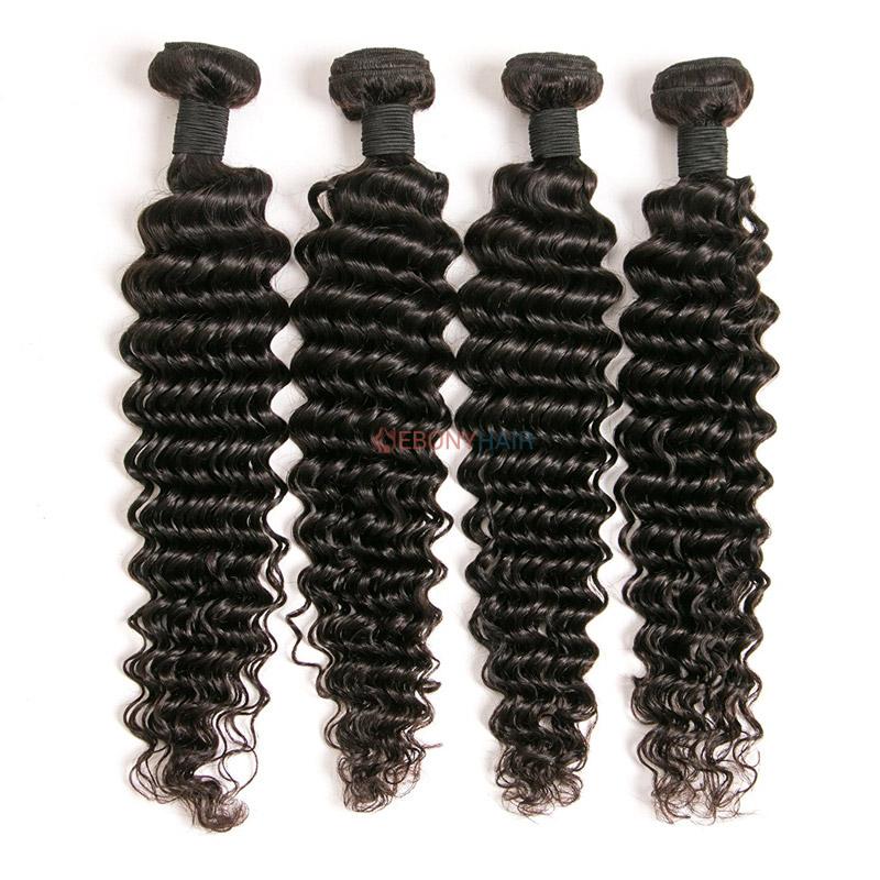 Peruvian Deep Wave Hair 4 Bundles