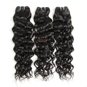 Stylish long lasting Brazilian Italy wave hair