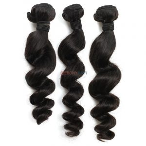 Brazilian Loose Curl Hair 3 Bundles