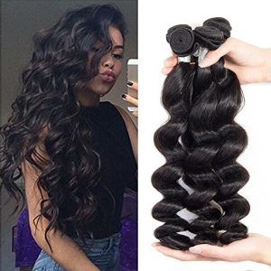 premium quality loose curl Brazilian hair