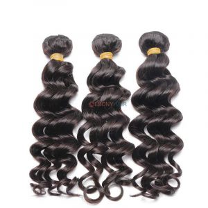 Wet and wavy Brazilian loose wave hair
