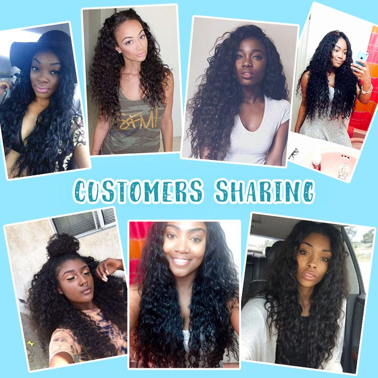 Brazilian Italy Wave Hair Sharing