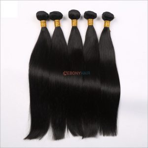 Natural human Brazilian hair straight bundles