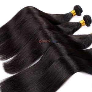 100 Virgin Brazilian Straight Hair Natural Raw Hair Material 100% Real Human Hair