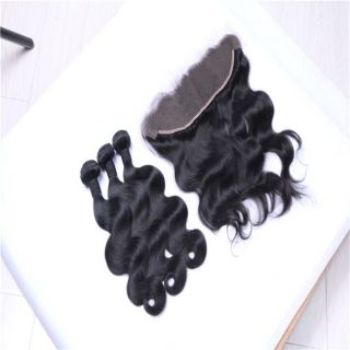 Human Virgin Remy Brazilian Cuticle Aligned aolai Hair