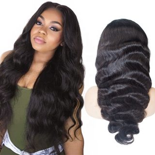 360 Lace Frontal Wig Pre Plucked Baby Hair Brazilian 150 Density Natural Hairline Remy Human Hair Lace Front Wigs