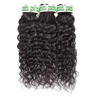 Wholesale 10a Cambodian Cuticle Aligned Human Hair Water Curly Wave Bundle Extension YesWigs Double Weft Human Hair Wet And Wavy