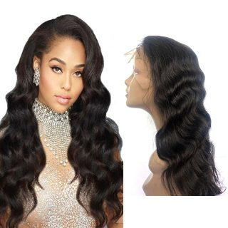 Wholesale 100% unprocessed Brazilian body wave lace front wigs  cuticle aligned natural human hair short wigs vendors