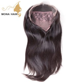 130 density natural hair wig for black women straight human hair top closure lace wigs lace front wigs