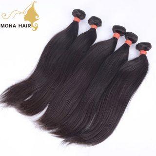 Top grade 10a silky straight cuticle aligned raw hair 100% human mink virgin Cambodian hair straight raw virgin hair weave
