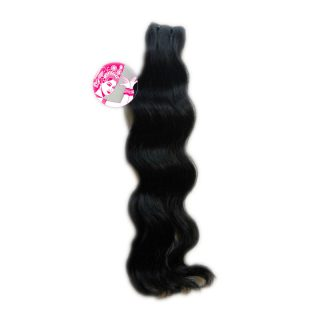 High-quality Apsara Indian Raw Virgin Big Wave weft human hair wig