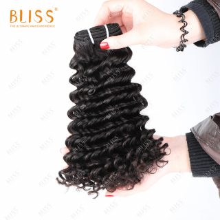 Bliss Cambodian 10a double drawn virgin cuticle aligned hair  high quality single donor virgin human hair water wave