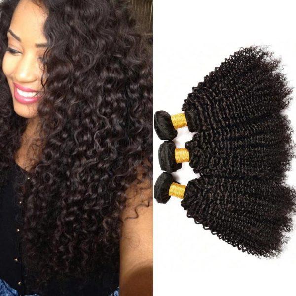 Black women prefer Brazilian jerry curl hair weaves
