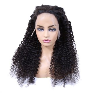 Hot Products Top 20 13x4 Lace Wigs Human Hair Extension 20inch Deep Wave Curly Hair Virgin Hair Wig